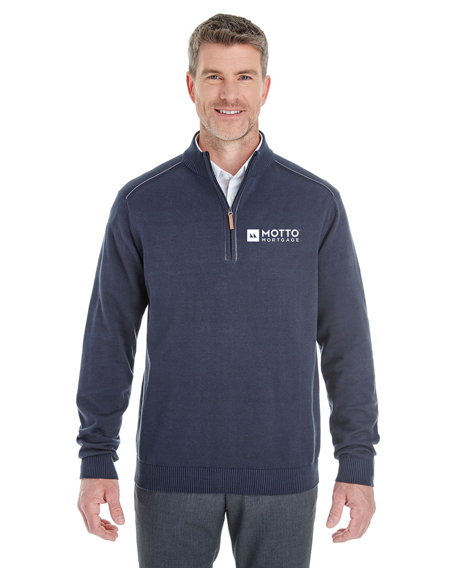 Men's Manchester Fully-Fashioned Quarter-Zip Sweater