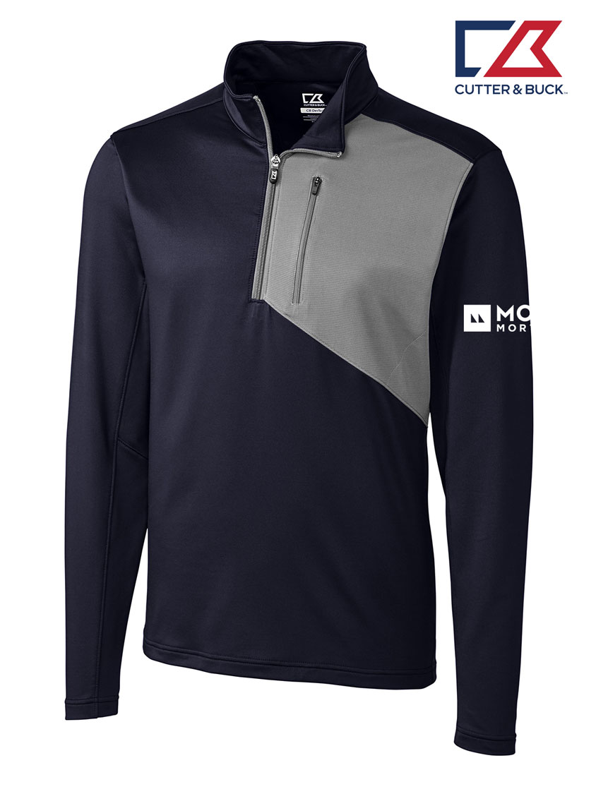 Cutter & Buck Men's Shaw Hybrid Half Zip